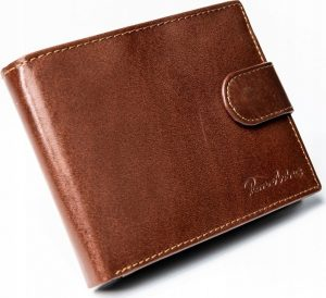 PIERRE ANDREUS kožená pánská peněženka N992L-VT-NL BROWN Velikost: univerzální