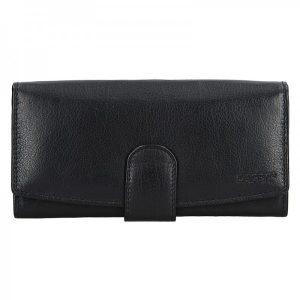 Dámská kožená peněženka Lagen Silvia – černá