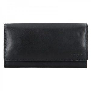 Dámská kožená peněženka Lagen Amalie – černá