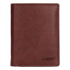 Pánská kožená peněženka Lagen Liam – hnědá