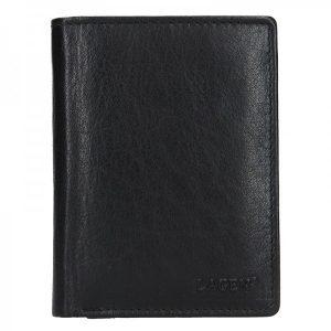 Pánská kožená peněženka Lagen Liam – černá