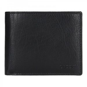 Pánská kožená peněženka Lagen Magnus – černá