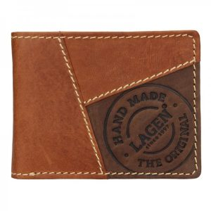 Pánská kožená peněženka Lagen Baltazar – hnědá