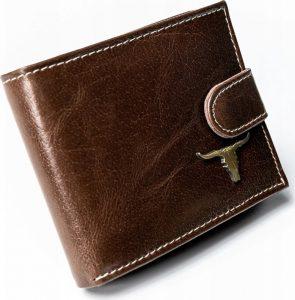 Pánská peněženka BUFFALO WILD RM-05L-BAW 2 BROWN Velikost: univerzální