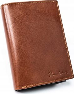 PIERRE ANDREUS pánská peněženka N104-VT-NL BROWN Velikost: univerzální