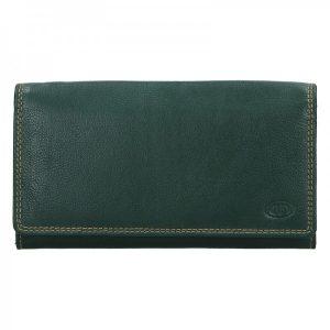 Dámská kožená peněženka DD Anekta Marketa – zelená