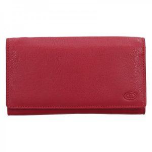 Dámská kožená peněženka DD Anekta Marketa – červená