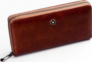 BASIC Hnědá dámská peněženka PX25-2-MT BROWN Velikost: univerzální