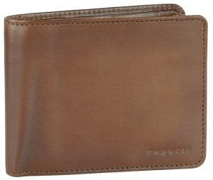 Bugatti Pánská kožená peněženka Domus RFID 49322907 Cognac