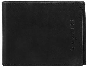Bugatti Pánská kožená peněženka Romano 49399401 Black