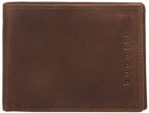 Bugatti Pánská kožená peněženka Romano 49399402 Brown