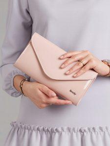 ROVICKY Elegantní růžové psaníčko W35 Velikost: univerzální