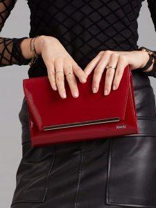 ROVICKY Červené elegantní psaníčko W52 Velikost: univerzální