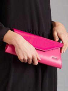 ROVICKY Elegantní růžové psaníčko W55 Velikost: univerzální