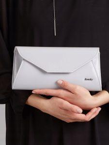 ROVICKY Elegantní šedé psaníčko W55 Velikost: univerzální