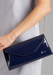 ROVICKY Tmavě modré elegantní psaníčko W55 Velikost: univerzální