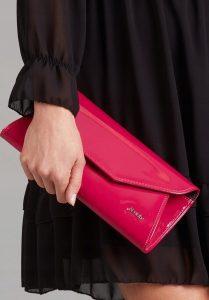 ROVICKY Růžové elegantní psaníčko W55 Velikost: univerzální