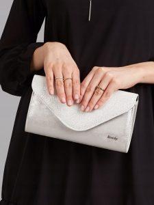 ROVICKY Elegantní stříbrné psaníčko W35 Velikost: univerzální