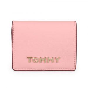Tommy Hilfiger Dámská peněženka Item Statement Medium AW0AW07121 – růžová