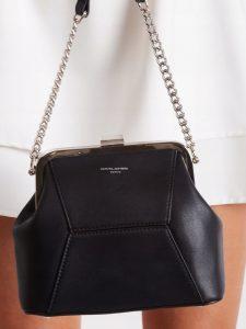 DAVID JONES Elegantní černá crossbody kabelka 5921-1 Velikost: univerzální