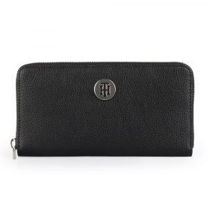 Tommy Hilfiger Dámská peněženka TH Core Large AW0AW07117 – černá