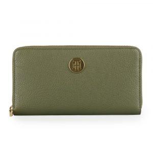 Tommy Hilfiger Dámská peněženka TH Core Large AW0AW07117 – khaki