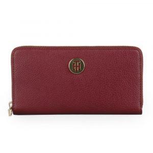 Tommy Hilfiger Dámská peněženka TH Core Large AW0AW07117 – vínová