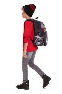 Desigual barevný dětský batoh Backpack Monkey