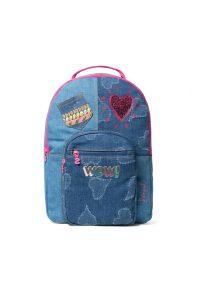 Desigual modrý dívčí batoh Backpack Tamarillo