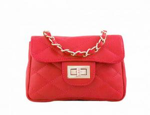 Kabelka Florence Perlita mini – červená