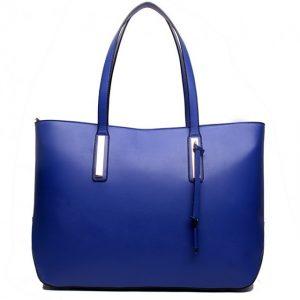 Kabelka Velena Maxi Shopper – modrá