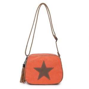 Kabelka Stars n.1 – oranžová