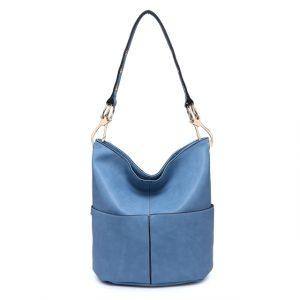 Kabelka Bando Maxi Shopper – modrá