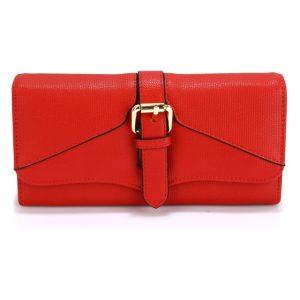 Peněženka Fashion Only Buckle – červená