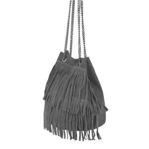 Kabelka Vako kožená – černá