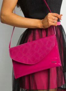 ROVICKY Tmavě růžové elegantní psaníčko W64 EXTRA 56/S3D Velikost: univerzální
