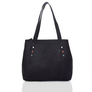 Kabelka Jely Shopper – černá černá