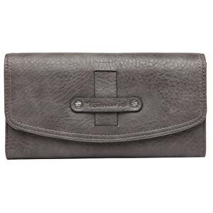 Tamaris Dámská peněženka BERNADETTE Big Wallet With Flap Grey