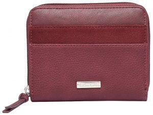 Tamaris Dámská peněženka KHEMA Small Zip Around Wallet Bordeaux Comb