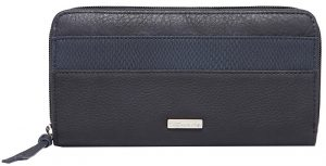 Tamaris Dámská peněženka KHEMA Big Zip Around Wallet Navy Comb.