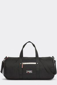Tommy Hilfiger černá pánská sportovní taška TJM Cool City Duffle Black