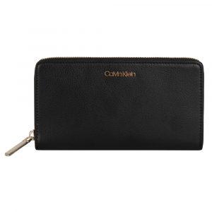 Calvin Klein Velká dámská peněženka Enfold K60K605668 – LGR