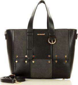 MONNARI Designová černá kabelka (6920a) Velikost: univerzální