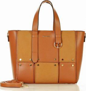 MONNARI Designová hnědá kabelka (6920b) Velikost: univerzální
