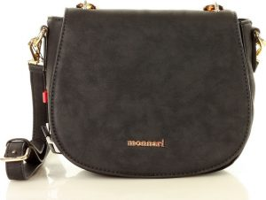 MONNARI Černá crossbody kabelka s řetízkem (9400a) Velikost: univerzální