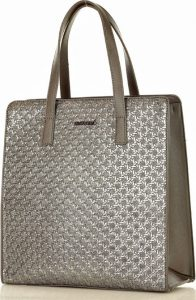 MONNARI Stříbrná shopper kabelka (8290a) Velikost: univerzální