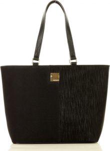 MONNARI Originální černá shopper kabelka (8390a) Velikost: univerzální