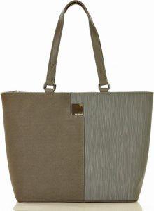 MONNARI Originální šedá shopper kabelka (8390b) Velikost: univerzální