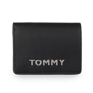 Tommy Hilfiger Dámská peněženka Item Statement Medium AW0AW07121 – černá