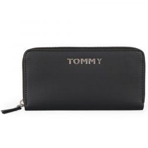 Tommy Hilfiger Dámská peněženka Item Statement Large AW0AW07367 – černá